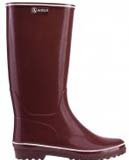Aigle venise crimson wellingtons