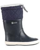 Aigle kids fur lined wellies