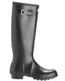 Black original Hunter wellington boots