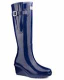 Duchess Navy blue wellies