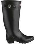 Huntress wellies black