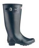 Huntress wellies navy