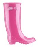 Huntress wellies pink