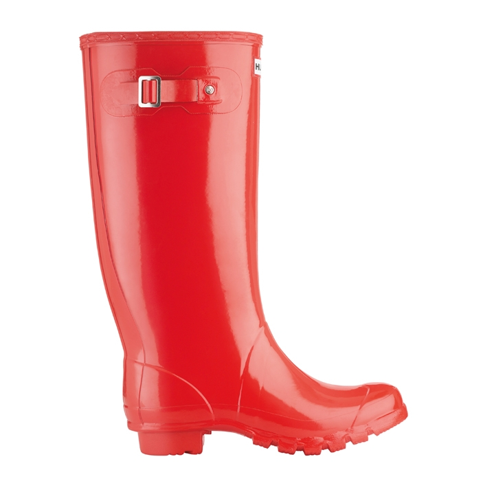 best quality 2019 factory price classcic Red Gloss Huntress Wellies - Hunter Wellingtons with wide ...