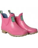 Joules Pink Ankle wellies