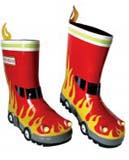 Boys fireman wellies