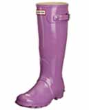 Lavender Hunter Wellies