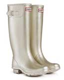 Metallic Gold Hunter Wellies