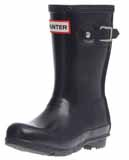 Navy Kids Hunter Wellies