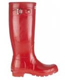 Red Hunter Wellies