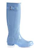 Cornflower Blue Hunter Wellies