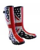 Union Jack British wellies